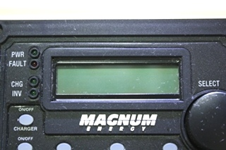 USED RV MAGNUM ENERGY REMOTE PANEL FOR SALE