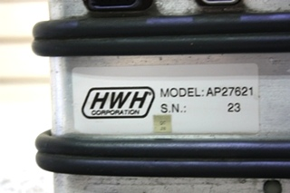 USED MOTORHOME HWH LEVELING CONTROL BOX AP27621 FOR SALE
