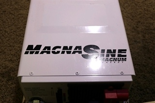 USED RV MAGNA SINE MS2812 MAGNUM ENERGY INVERTER CHARGER FOR SALE