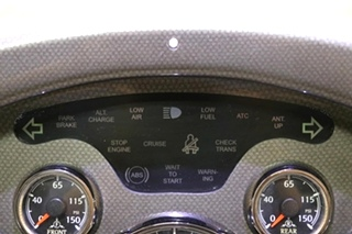 USED MONACO MOTORHOME DASH CLUSTER FOR SALE