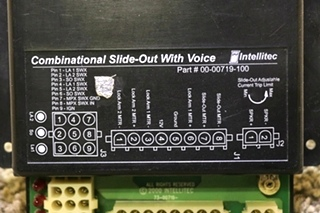 USED MOTORHOME INTELLITEC 00-00719-100 COMBINATIONAL SLIDE OUT WITH VOICE FOR SALE