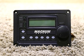 USED MOTORHOME MAGNUM ENERGY REMOTE PANEL FOR SALE