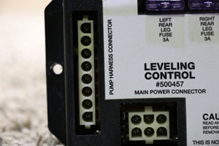 USED MOTORHOME POWER GEAR 500457 LEVELING CONTROL BOARD FOR SALE