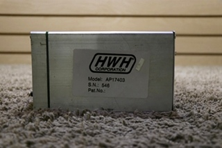 USED RV AP17403 HWH LEVELING CONTROL BOX FOR SALE