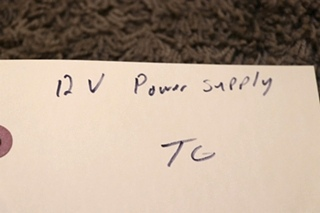 USED MOTORHOME S-201-12 SWITCHING POWER SUPPLY FOR SALE