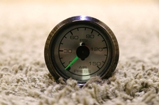 USED MOTORHOME AIR PRESSURE DASH GAUGE FOR SALE