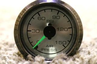 USED MOTORHOME AIR PRESSURE DASH GAUGE FOR SALE