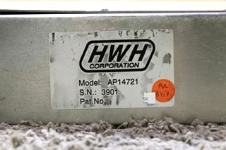 USED MOTORHOME HWH AP14721 LEVELING CONTROL BOX WITH LEVELING SENSOR FOR SALE