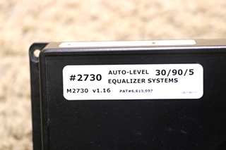 USED MOTORHOME AUTO-LEVEL EQUALIZER SYSTEMS 2730 FOR SALE
