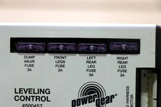 USED RV POWER GEAR 500457 LEVELING CONTROL BOARD FOR SALE