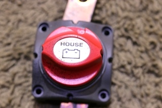 USED MOTORHOME BATTERY DISCONNECT SWITCH FOR SALE