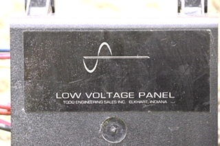 USED LOW VOLTAGE FUSE PANEL MOTORHOME PARTS FOR SALE
