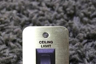 USED MOTORHOME CEILING LIGHT SWITCH FOR SALE