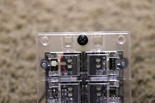 USED RV 00-00869-010 INTELLITEC 10 BUTTON SWITCH PANEL FOR SALE