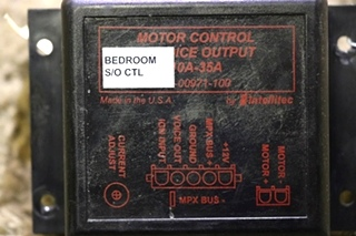 USED INTELLITEC MOTORHOME CONTROL W/ VOICE OUTPUT 00-00971-100 SLIDE OUT CONTROL RV PARTS FOR SALE