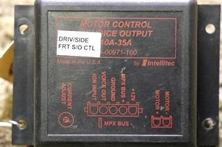 USED MOTORHOME CONTROL W/ VOICE OUTPUT 00-00971-100 MOTORHOME PARTS FOR SALE