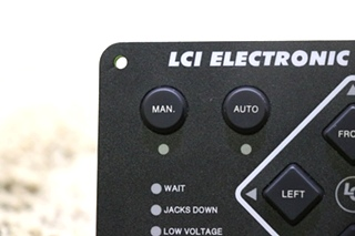 USED MOTORHOME LCI ELECTRONIC LEVELING TOUCH PAD FOR SALE