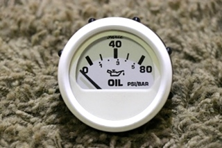 USED RV OIL PRESSURE DASH GAUGE 118401 FOR SALE