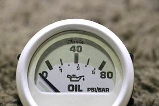 USED RV OIL PRESSURE DASH GAUGE 118401 FOR SALE
