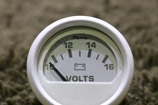 USED FARIA VP9139D VOLTS RV DASH GAUGE FOR SALE