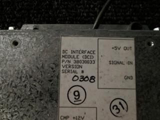 USED ALADDIN DC INTERFACE MODULE P/N 38030033 S/N: 0308