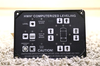 USED AP22905 HWH COMPUTERIZED LEVELING TOUCH PAD RV PARTS FOR SALE