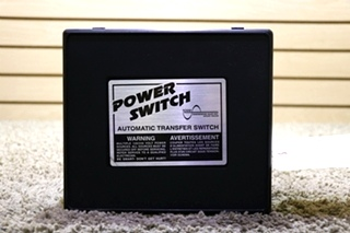USED MOTORHOME POWER SWITCH PS 250 AUTOMATIC TRANSFER SWITCH FOR SALE