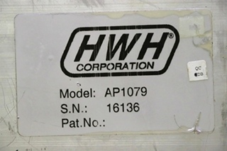 USED AP1079 HWH LEVELING CONTROL BOX RV PARTS FOR SALE