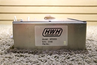 USED AP2205 HWH LEVELING CONTROL BOX RV PARTS FOR SALE