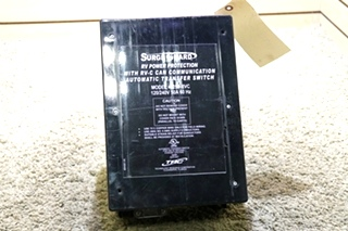 USED 40250-RVC SURGE GUARD RV POWER PROTECTION WITH RV-C CAN CUMMICATION AUTOMATIC TRANSFER SWITCH FOR SALE