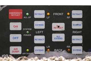USED MOTORHOME KIB BIG FOOT LEVELING CONTROL TOUCH PAD RV PARTS FOR SALE