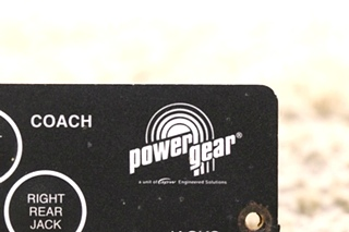 USED RV POWER GEAR 500456 LEVELING TOUCH PAD MOTORHOME PARTS FOR SALE