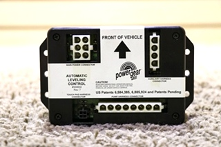 USED MOTORHOME POWER GEAR 500630 AUTOMATIC LEVELING CONTROL RV PARTS FOR SALE