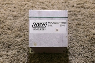 USED AP40185 HWH LEVELEZE RV LEVELING CONTROL MOTORHOME PARTS FOR SALE