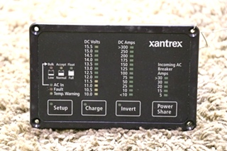 USED XANTREX 84-2056-03 FREEDOM REMOTE PANEL MOTORHOME PARTS FOR SALE