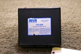 USED MOTORHOME IOTA ITS-50R AUTOMATIC TRANSFER SWITCH RV PARTS FOR SALE