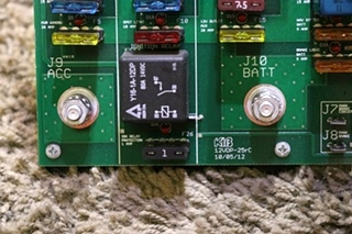 USED MOTORHOME 12VDP-25RC KIB BATTERY CONTROL BOARD RV PARTS FOR SALE