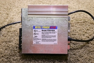 USED MOTORHOME INTELI POWER 9100 SERIES POWER CONVERTER PD9160A RV PARTS FOR SALE