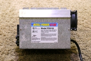 USED INTELI POWER 9100 SERIES RV POWER CONVERTER MODEL: PD9155 MOTORHOME PARTS FOR SALE
