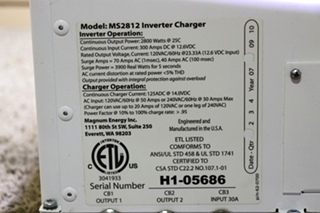 USED MS2818 MAGNA SINE RV MAGNUM ENERGY INVERTER CHARGER MOTORHOME PARTS FOR SALE