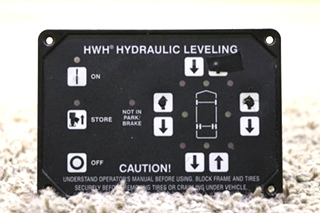 USED MOTORHOME AP31350 HWH HYDRAULIC LEVELING TOUCH PAD RV PARTS FOR SALE
