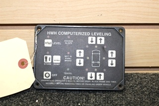 USED RV/MOTORHOME HWH CORP. COMPUTERIZED LEVELING MODEL: AP1088
