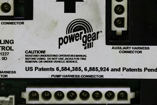 USED 140-1227 POWER GEAR MOTORHOME LEVELING CONTROL BOARD RV PARTS FOR SALE