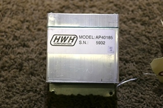 USED RV HWH AP40185 LEVELING CONTROL BOX MOTORHOME PARTS FOR SALE