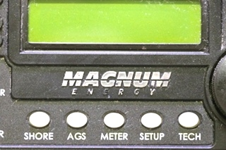 USED MOTORHOME MAGNUM ENERGY INVERTER/CHARGER REMOTE RV PARTS FOR SALE