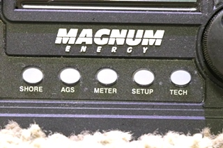 USED RV MAGNUM ENERGY INVERTER/CHARGER REMOTE PANEL MOTORHOME PARTS FOR SALE