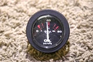 USED MOTORHOME 57916 OIL PRESSURE GAUGE RV PARTS FOR SALE