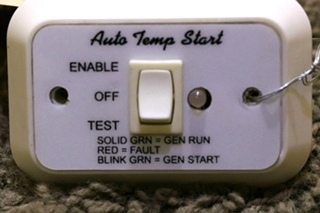USED RV A9159WH AUTO TEMP START SWITCH MOTORHOME PARTS FOR SALE