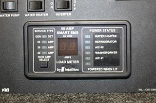 USED RV/MOTORHOME KIIB CONTROL PANEL PN: C07-0340