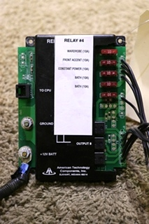 USED AMERICAN TECHNOLOGY MOTORHOME RELAY #4 AT-RVM-RLM12 RV PARTS FOR SALE